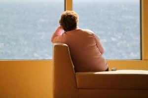 einsam und allein
